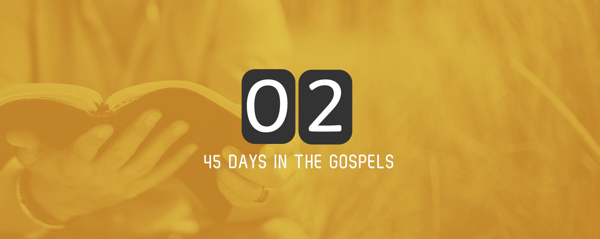 Tuesday 30th May – Matthew 3 & 4