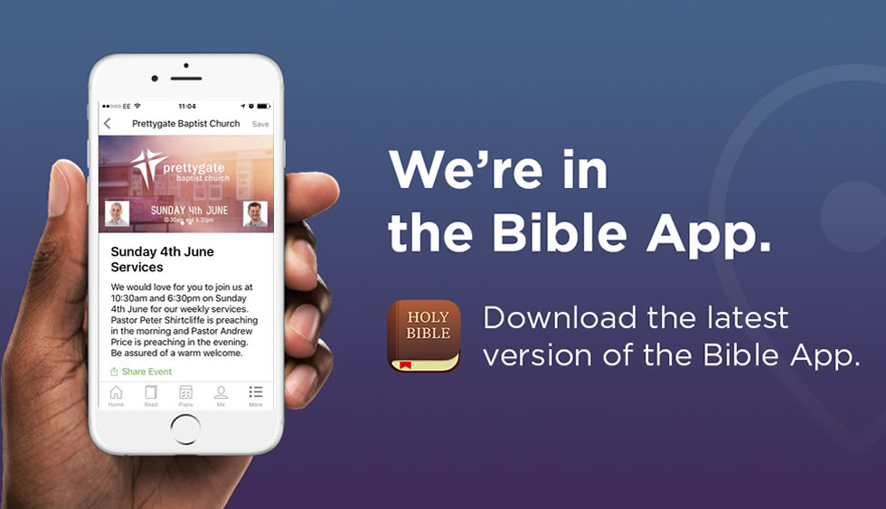We're in the You Version Bible App