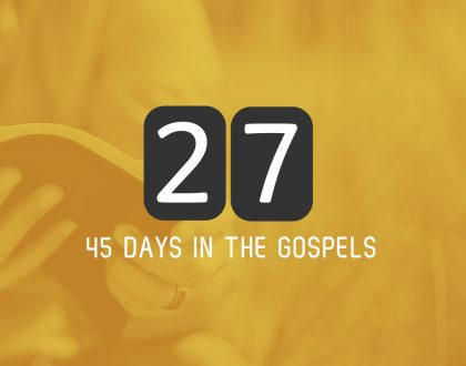 Saturday 24th June – Luke 9 and 10