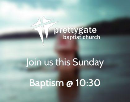 Sunday Morning Service @ 10:30 with Baptism